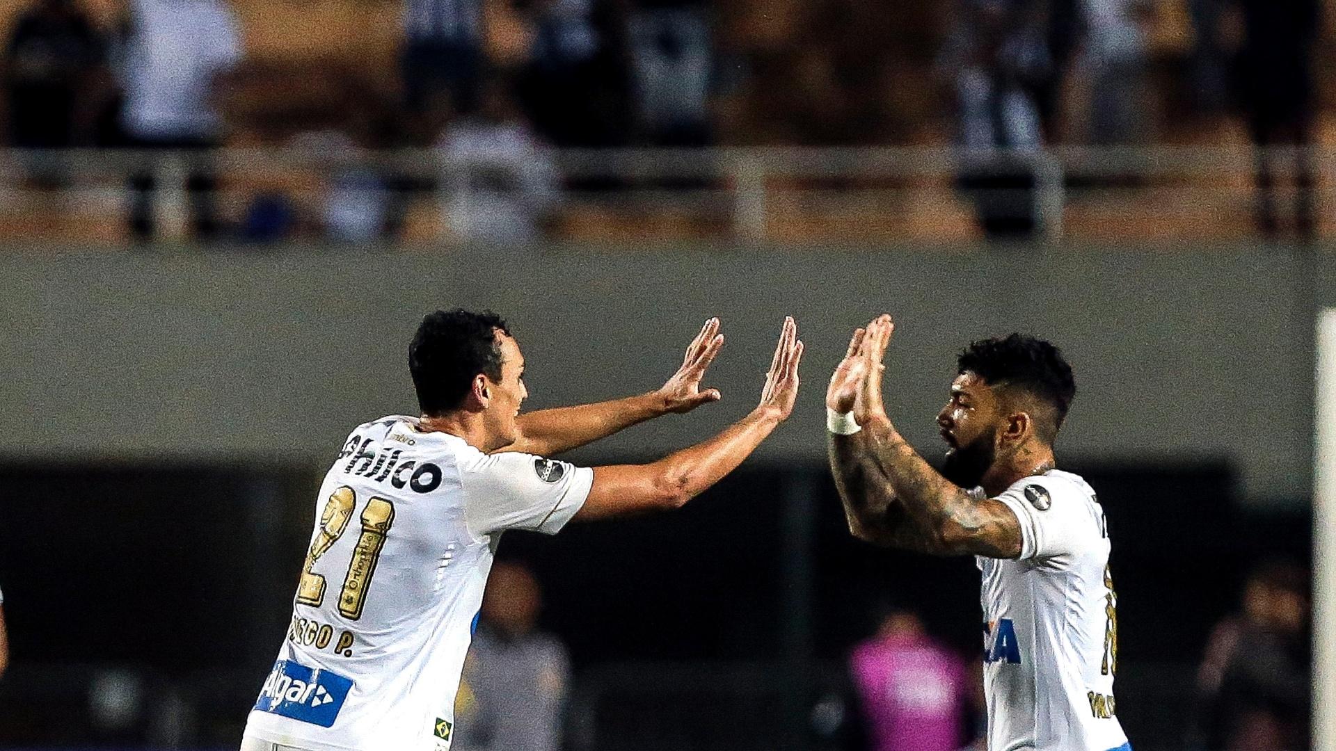 Diego Pituca Gabriel Gabigol Santos Vasco Pacaembu Campeonato Brasileiro
