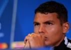 Thiago Silva sente lesão e deve ser desfalque do PSG na Liga dos Campeões