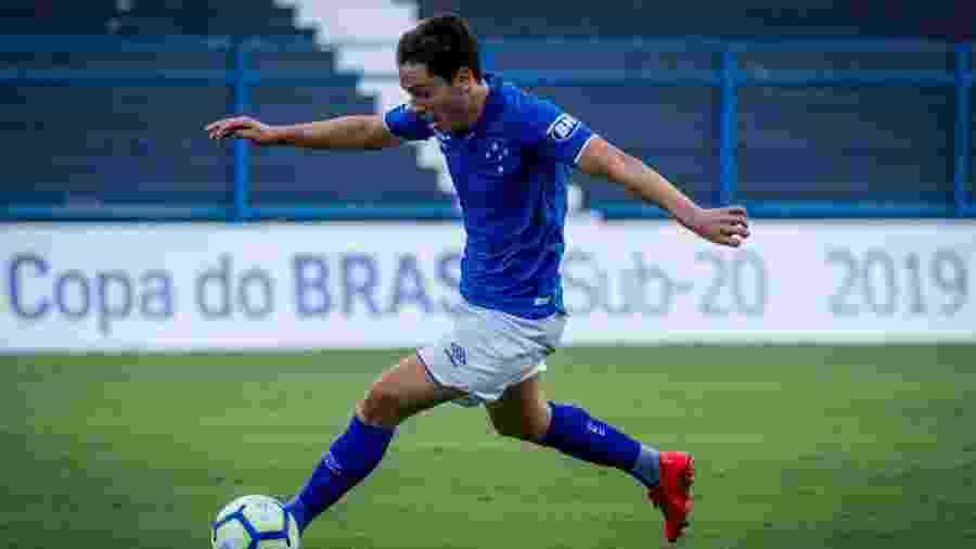 Mauricio, meia do Cruzeiro, foi o último convocado por Tite para integrar treinos na Granja Comary - Gustavo Aleixo/Cruzeiro EC