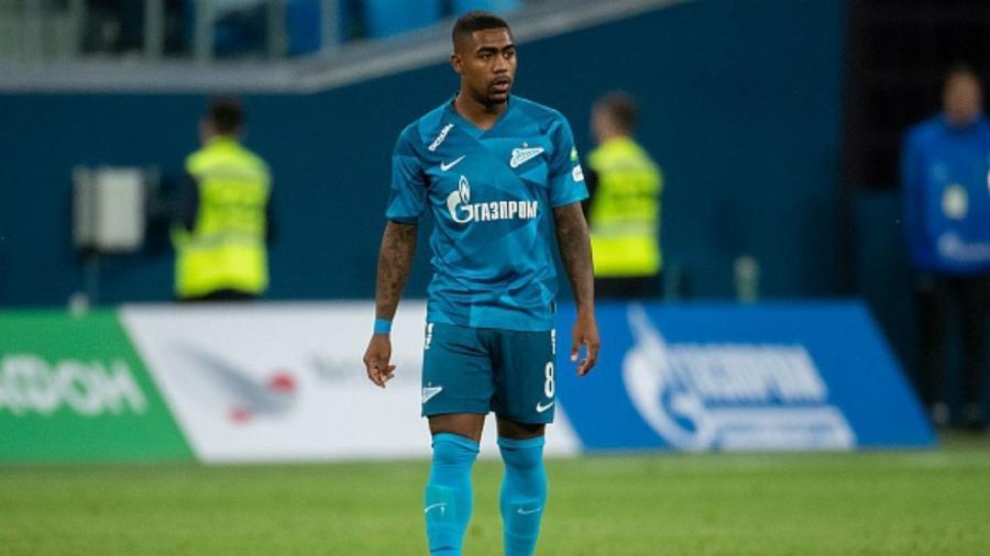 Malcom em sua estreia com a camisa do Zenit - Reprodução/Twitter/Zenit