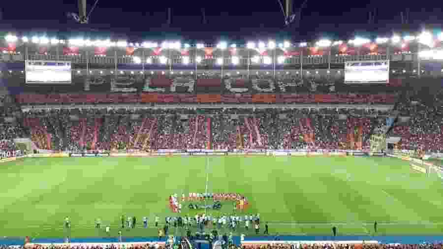 Maracanã receberá cerca de 50 mil pessoas para Fan Fest oficial que transmitirá Flamengo x River Plate - Leo Burlá / UOL Esporte