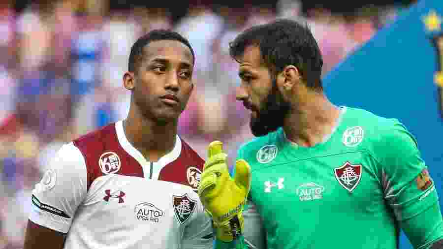 Muriel e João Pedro foram os destaques do Fluminense na vitória sobre o Fortaleza - Lucas Merçon/Fluminense FC