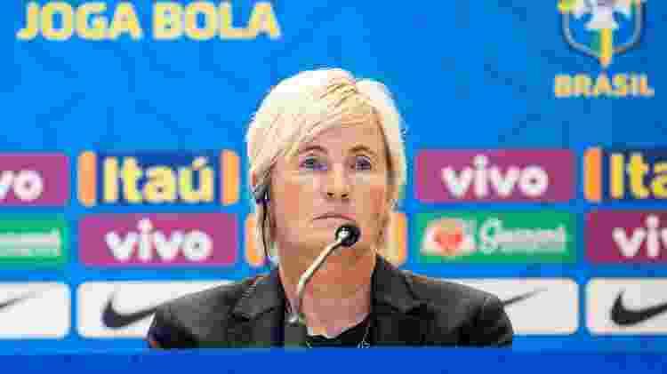 Lilie Persson é apresentada como auxiliar de Pia Sundhage na seleção brasileira feminina - Bruno Egger / MoWA Press