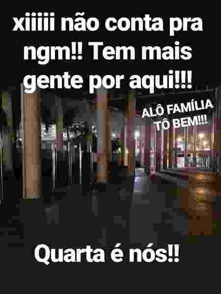 Torcedor do Flamengo estaria escondido no Maracanã desde o Fla-Flu - Reprodução - Reprodução