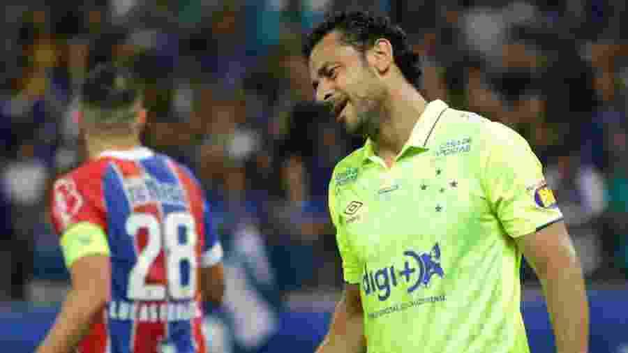 Altos salários e dívida do Cruzeiro com Fred afastam permanência do jogador para a temporada de 2020 - Fernando Moreno/AGIF