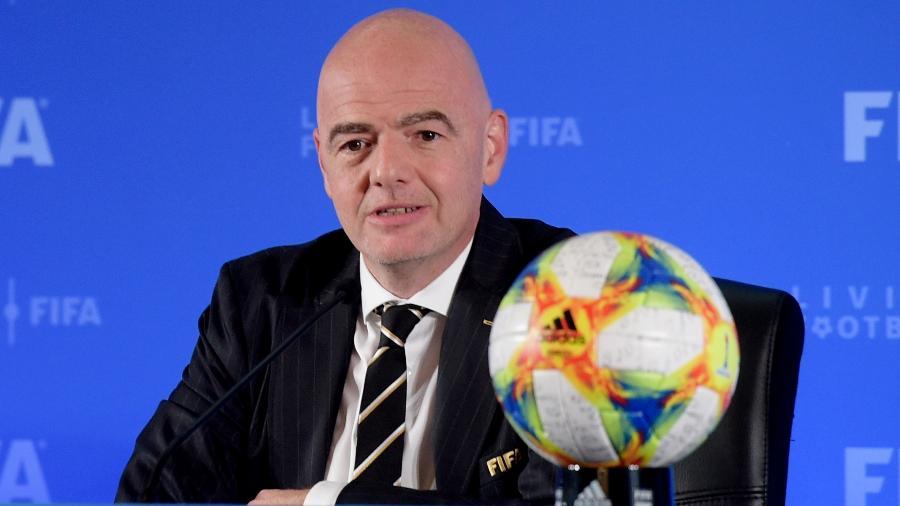 Assinado por Gianni Infantino, presidente da entidade, texto prevê medidas duras caso Superliga saia do papel - VCG/VCG via Getty Images