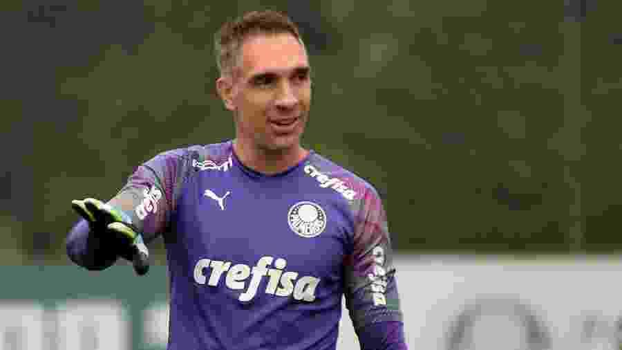 Fernando Prass deixou o Palmeiras após sete anos defendendo o clube alviverde - Bruno Ulivieri/AGIF