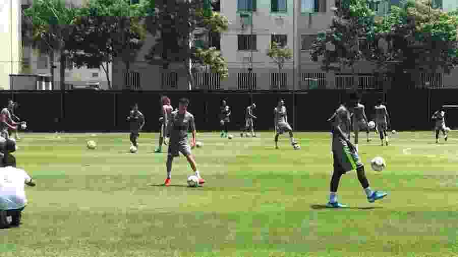 Jogadores do Vasco fazem segundo treino na temporada 2020 - Bruno Braz / UOL