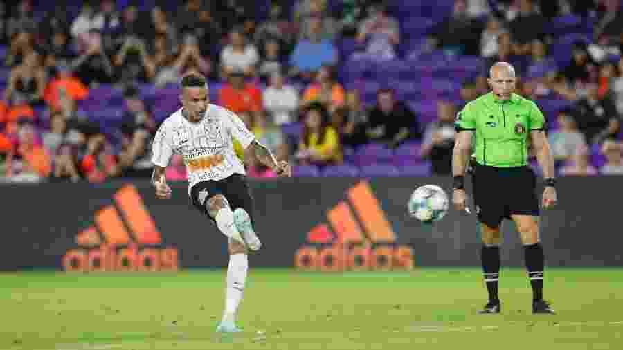 Luan é o grande reforço do Corinthians para a temporada 2020. O camisa 7 faz a sua estreia hoje na Arena como meia do Timão - Rafael Ribeiro/Florida Cup