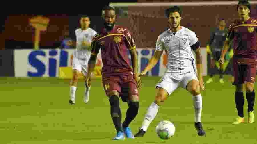 Hudson lamentou derrota do Fluminense para o Sport pelo Campeonato Brasileiro - Mailson Santana/Fluminense FC