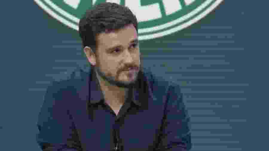 """Raphael Rezende participou ontem do """"Troca de Passes"""", do SporTV - Reprodução/SporTV"""
