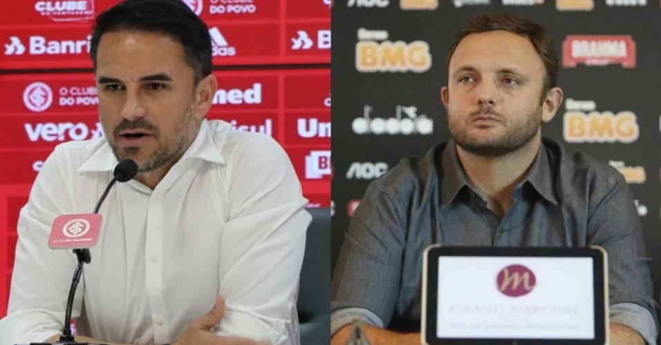 Rodrigo Caetano e Andre Mazzuco assumem os departamentos de futebol de Atlético-MG e Cruzeiro, respectivamente