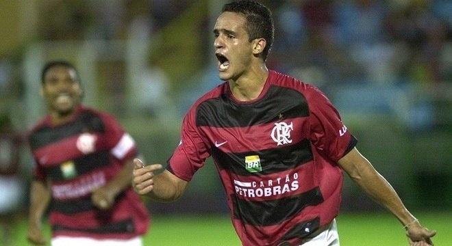 Renato Augusto em jogo pelo Flamengo