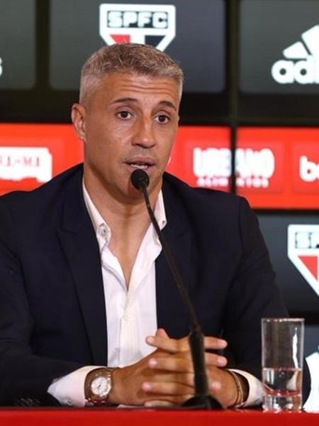 Hernán Crespo, técnico do São Paulo - Divulgação/São Paulo FC