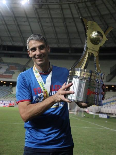 Técnico do Fortaleza, Vojvoda é aposta do Fortaleza por crescimento - Leonardo Moreira /FortalezaEC