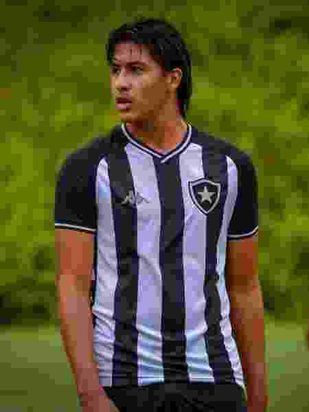 Rhenzo Alcon é atacante do sub-17 do Botafogo e está no Alvinegro desde os 13 anos - Reprodução / Twitter - Reprodução / Twitter