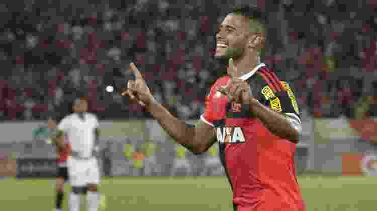 Kayke em ação pelo Flamengo - Gilvan de Souza/ Flamengo