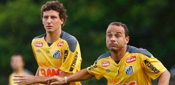 """Elano e Léo, ídolos do Santos, planejam """"jogo de despedida"""" em conjunto no Santos - Divulgação/SantosFC"""