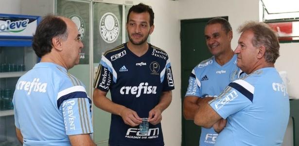 Dracena acertou com o Palmeiras após defender o Corinthians em 2015 - Cesar Greco/Ag Palmeiras