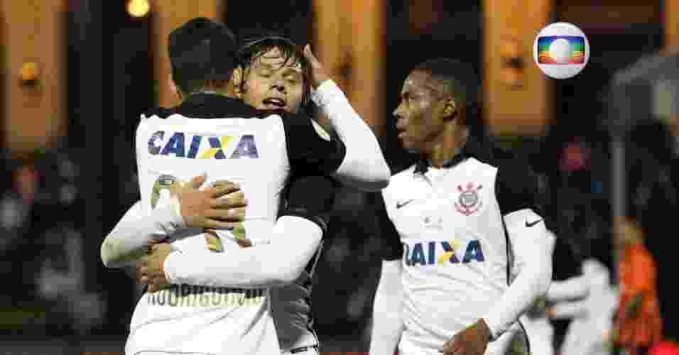 Corinthians - Rede Globo (até 2024) - Gregg Newton/AFP