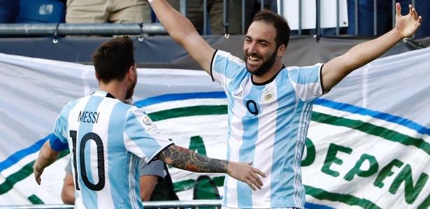 Higuaín está na Copa América com a seleção da Argentina - Winslow Townson-USA TODAY Sports