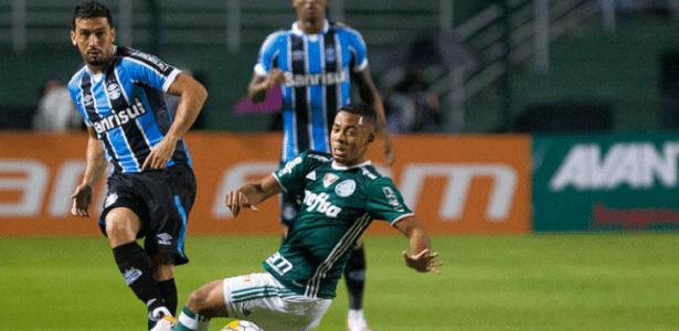 Edílson pode voltar ao Grêmio contra o São Paulo na próxima quinta-feira