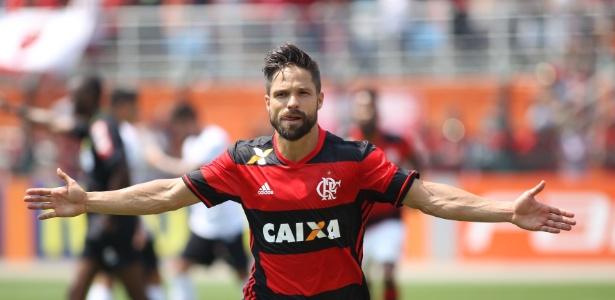O meia Diego é peça fundamental na engrenagem do time do Flamengo