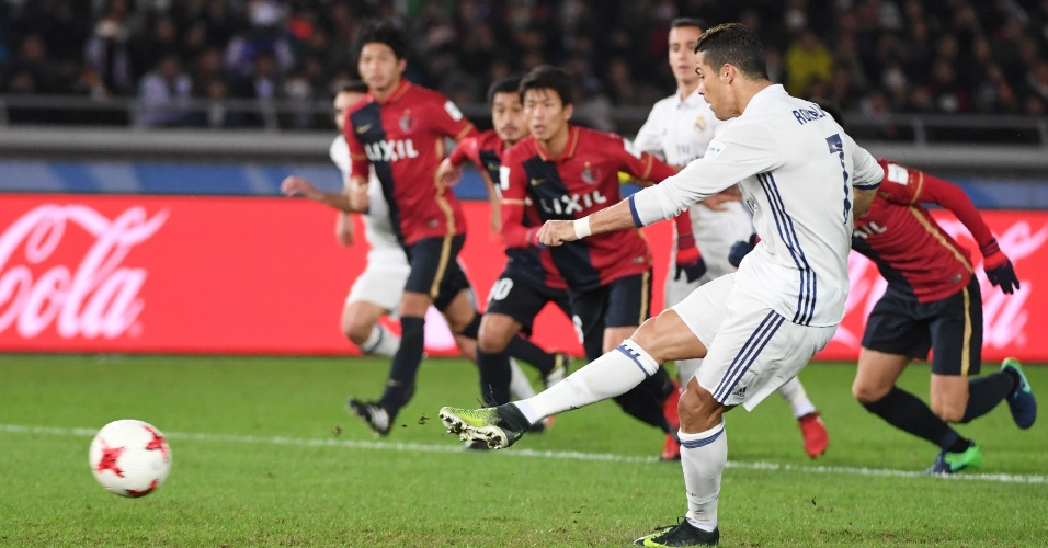 Cristiano Ronaldo empata de pênalti para o Real Madrid