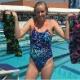 Campeã olímpica compete grávida e faz o sexto melhor tempo em competição - Reprodução/Instagram