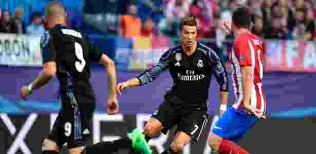 Cristiano Ronaldo tem o Atlético de Madri como uma das maiores vítimas da carreira - Gerard Julien/AFP