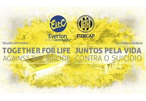 Atlético-PR e Everton se unem em campanha de prevenção ao suicídio