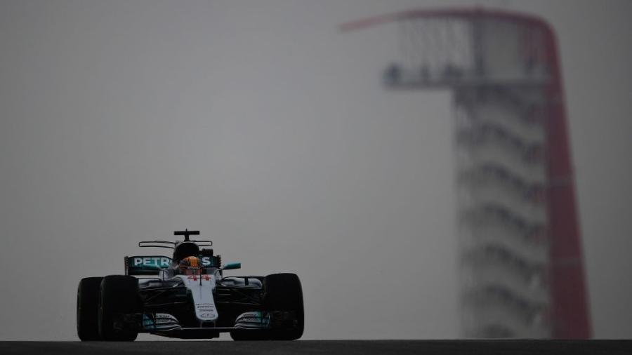 Lewis Hamilton liderou os treinos livres para o GP dos Estados Unidos - Clive Mason/Getty Images