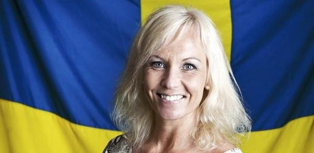 A ex-jogadora da seleção da Suécia Gunilla Axén - Reprodução/Facebook