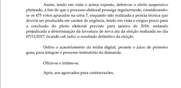 Desembargadora defere suspensão de urna 7 em eleições no Vasco - Reprodução - Reprodução