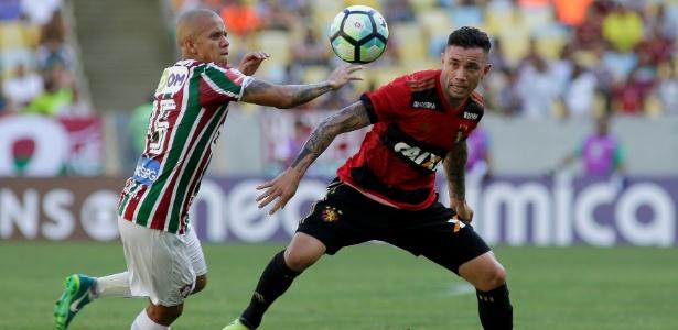 Marcos Júnior fez gol de bicicleta na derrota do Fluminense