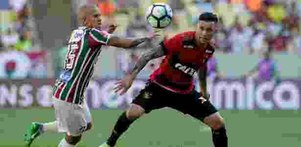 Marcos Júnior fez gol de bicicleta na derrota do Fluminense - Luciano Belford/AGIF