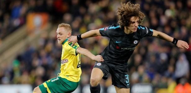 David Luiz voltou a ser titular do Chelsea depois se seis semanas fora do time