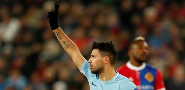 Em apenas quatro dias, Agüero marcou cinco gols pelo Manchester City