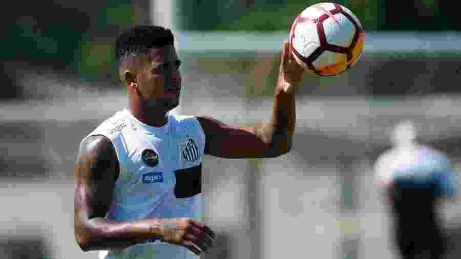 Diogo Vitor foi pego no exame antidoping com substância presente na cocaína - Ivan Storti/SantosFC