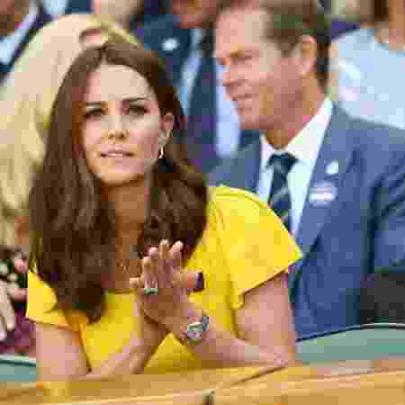 Kate Middleton na final do torneio de tênis - Neil Hall/Reuters