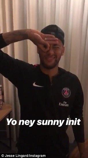 Neymar Dele Alli Challenge