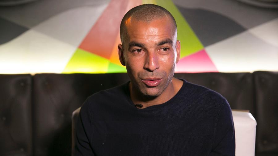Emerson Sheik, ex-atacante do Corinthians, em entrevista ao UOL Esporte - Marcio Komesu/UOL Esporte