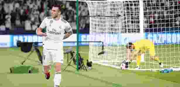Bale anotou três gols e terminou como o grande destaque da vitória do Real - Suhaib Salem/Reuters