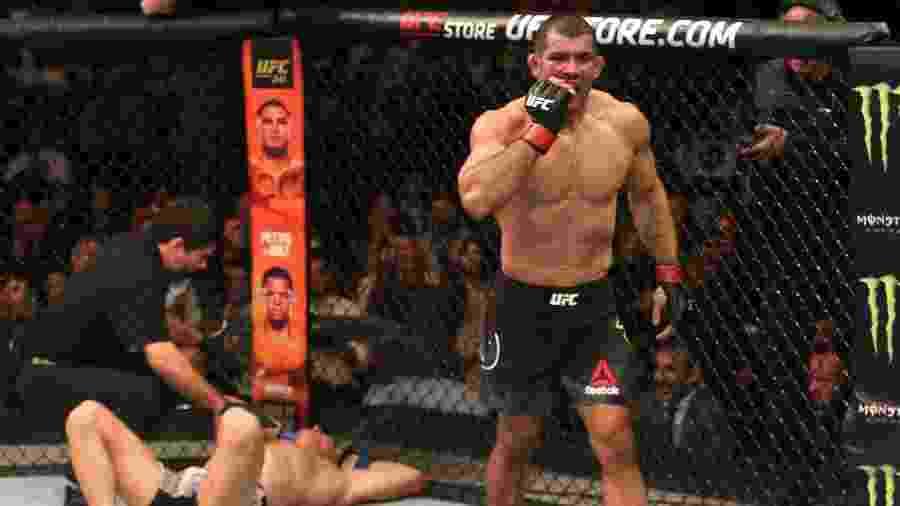 Rodolfo Vieira finaliza Oskar Piechota e vence em sua estreia no UFC - Alexandre Schneider/Zuffa LLC
