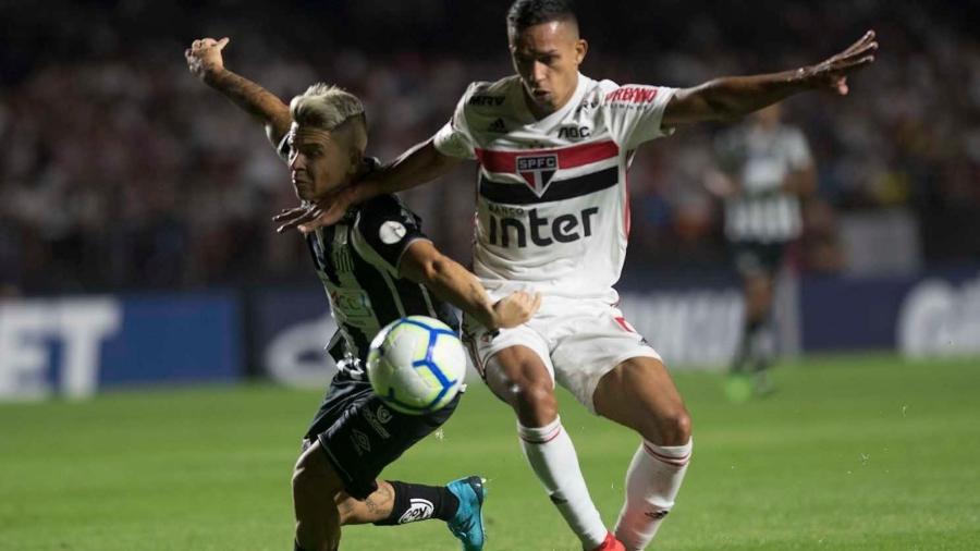 Turner agora entende que pode até transmitir o clássico entre Santos e São Paulo pelo Brasileirão - Ivan Storti/Santos FC
