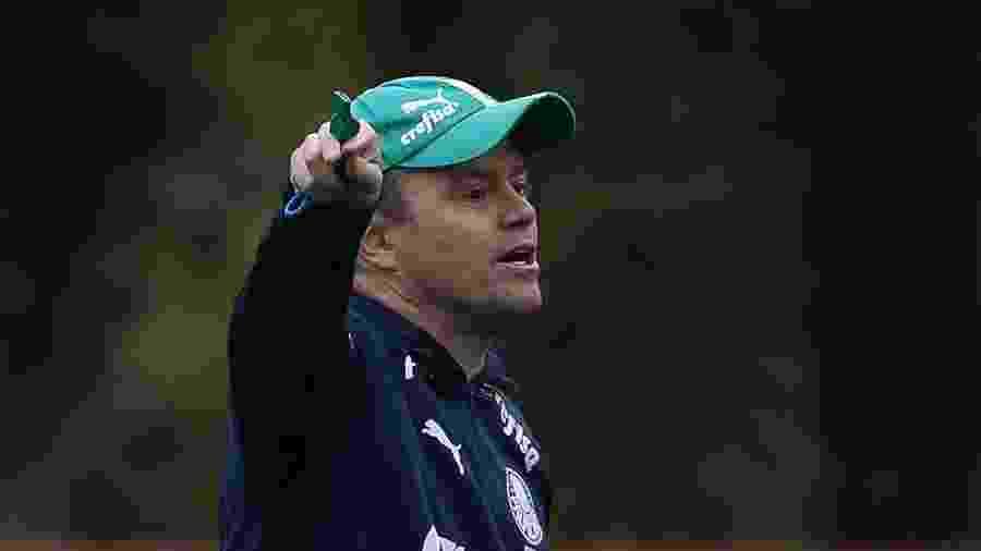 Andrey Lopes, auxiliar do Palmeiras que será técnico até fim de 2019 - Cesar Greco/Ag. Palmeiras/Divulgação