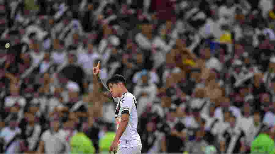 Germán Cano chegou a São Januário para a temporada de 2020 e é um dos xodós da torcida - Thiago Ribeiro/Thiago Ribeiro/AGIF