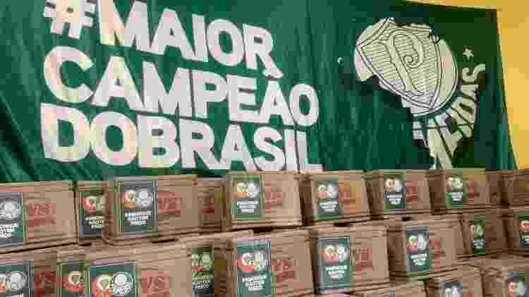 Cestas básicas doadas por Paulo Nobre e amigos do movimento #OAmorNãoTemPreço - Arquivo Pessoal - Arquivo Pessoal
