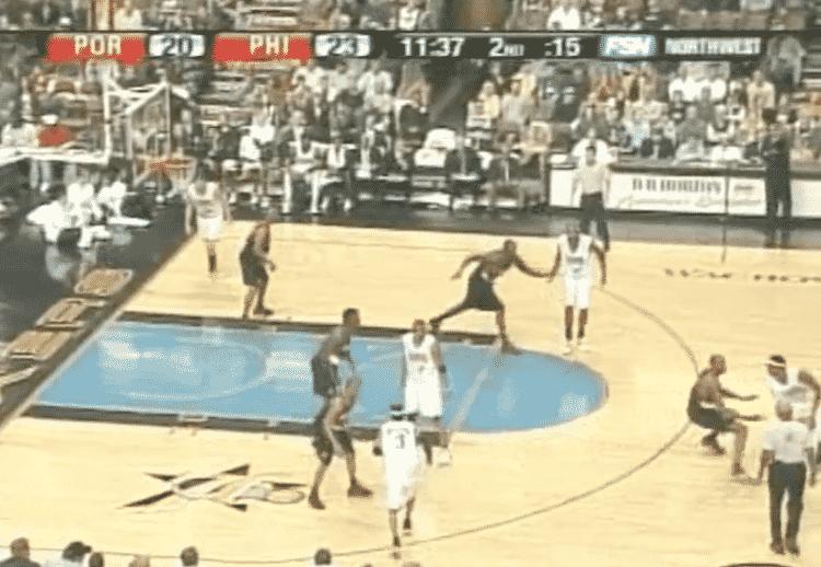 Iverson Cut - Reprodução/NBA - Reprodução/NBA