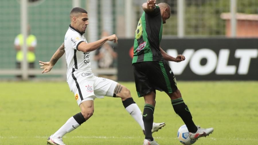 Corinthians e América-MG jogam na noite deste domingo, pela 21ª rodada do Campeonato Brasileiro -  Rodrigo Coca/Agência Corinthians